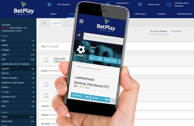 Como descargar la aplicacion de Betplay Colombia?